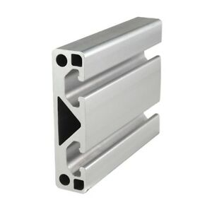 80 20 Inc T slot 80mm X 20mm Aluminum Extrusion 40 Series 40 8020 X 1525mm N