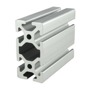 80 20 Inc T slot 40mm X 80mm Aluminum Extrusion 40 Series 40 4080 X 1525mm N