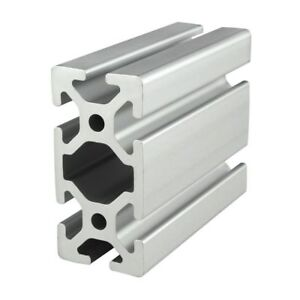 80 20 Inc T slot 40mm X 80mm Aluminum Extrusion 40 Series 40 4080 X 1220mm N
