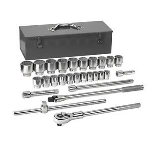 Gearwrench 80880 Socket Set 27 Piece 3 4 Drive 12 Point