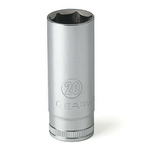 Gearwrench 80406 20mm 6 Point Deep Metric Socket 3 8 Drive