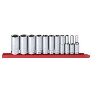 Gearwrench 80555 11 Piece 3 8 Drive 6 Point Deep Sae Socket Set