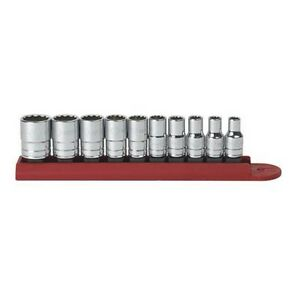 Gearwrench 80307d 10 Piece 1 4 Drive 12 Point Sae Socket Set