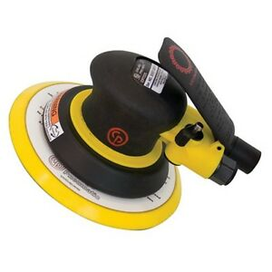 Chicago Pneumatic 7225 Random Orbital Air Sander 6 Pad