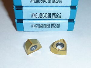 Wngu 090408r In2510 Ingersoll 10 Inserts Factory Pack