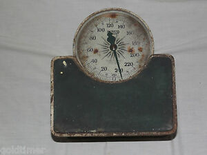 Vintage Health Doctor 1917 Detecto Junior Stand On Weight Scale