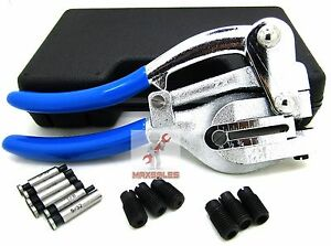 New Power Hole Punch Kit Sheet Metal Hand Tool Set Heavy Duty Punch Kit