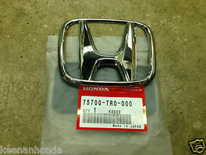 Genuine Oem Honda Civic 2dr Coupe Rear Trunk H Emblem 2012 2015