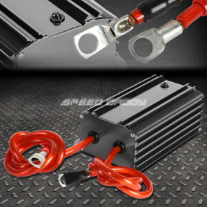Car Battery Power Electronic Voltage Stabilizer Ground Regulator Cable Gun Metal