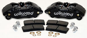 Wilwood Dpha Brake Caliper Pad Set Front Stock Replacement Honda Acura Black