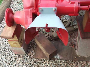 Farmall A b c Super A Super C Pto Shield With Belt Pulley 55398da C details