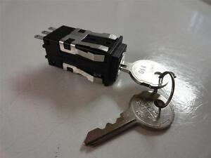 Honeywell Key lock Control Micro Switch 2 keys Aml27abk2aa22ba 1p No light H55