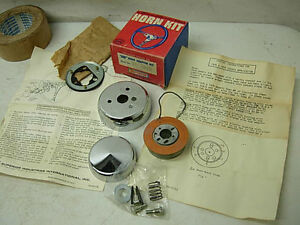 1970s Toyota Nos Superior 500 Steering Wheel Hub Horn Adapter Kit 86 2860 New