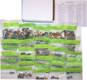 1972 Mustang Master Body Bolt Kit 416 Pieces
