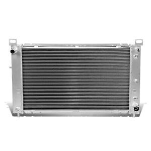 99 07 Gmc Yukon sierra tahoe escalade V8 2 two Row core Full Aluminum Radiator