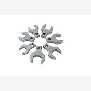 Sunex 9720 1 2 Dr 7 Pc Fully Polished Sae Jumbo Straight Crowfoot Wrench Set
