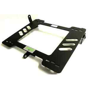 Planted Seat Bracket Driver left Side Vw Mk1 Jetta Rabbit Scirocco Golf Black