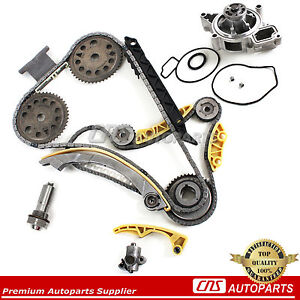 Timing Chain Kit Balance Shaft Water Pump For 00 11 Cobalt Hhr 2 0l 2 2l 2 4l