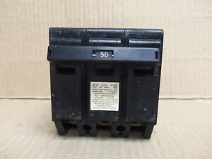 Crouse Hinds Mp Mp a Mp350 50 Amp 3 Pole Circuit Breaker