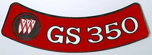 1970 1971 Buick Gs350 Air Cleaner Decal