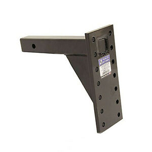 B w Hitches Pmhd14004 16k Pintle Hitch Plate 14 Hole 6 Positions 13 Shank