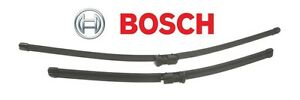 Vw Oem Bosch Windshield Wiper Blade Set 3 397 118 979 Jetta Cc Eos Golf Passat