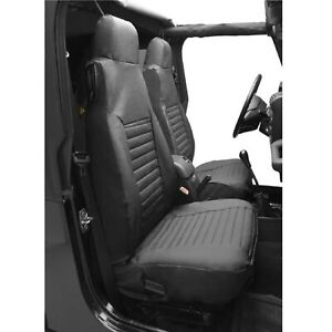 Bestop 29227 15 Front Seat Covers High Back For Jeep Cj 5 Cj 7