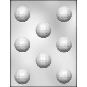 Golf Balls Sports Chocolate Candy Mold from CK #6009 - NEW
