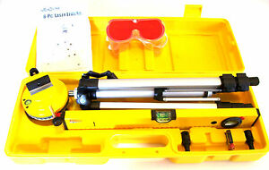 6pc Micro line Precision Laser Level Kit With Tripod Made By Michigan Industrial