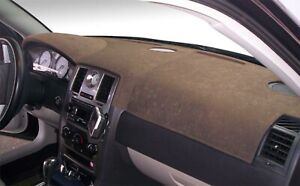 Dodge Ram Truck 1500 2002 Brushed Suede Dash Board Cover Mat Taupe