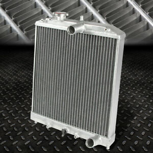 2 row Full Aluminum Racing Radiator 92 00 Civic Ej ek del Sol Eg integra Db Dc