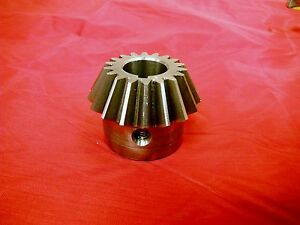 Bridgeport Mill Part Milling Machine Elevating Bevel Pinion Gear 1062205 M1237