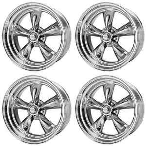 American Racing Hot Rod Vn515 Torq Thrust Ii Vn5155861 4 Rims 15x8 18mm 5x4 75