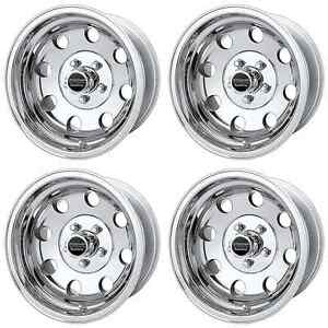 American Racing Ar172 Baja Ar1725884 Rims Qty 4 15x8 20mm Offset 6x5 5 Polished
