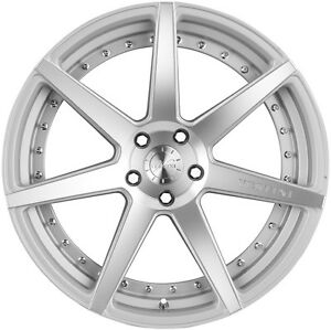 20 Staggered Vertini Dynasty Wheel5x114 3 Silver Fits Lexus Is250