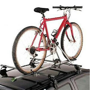 Aluminum Upright Car Roof Top Foldable Bike Bicycle Cycling Rack Carrier Suv Van