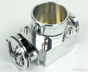 Rev9 70mm Universal Billet T6 Aluminum Throttle Body W Adapter Plate