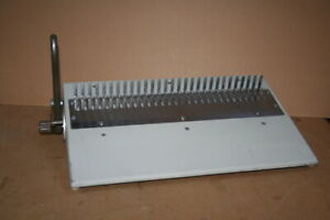 Plastic Comb spine Finisher Manual Combbind 16db General Binding Corp
