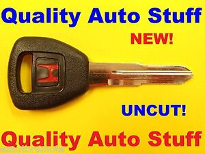 New Oem 1996 2006 Red Honda Logo Transponder Chip Key Hd106 Pt 35113 S84 A01