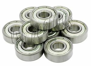 10 Ceramic Ball Bearing S693zz 3x8x4 Stainless Steel Miniature 3mm X 8mm Quality