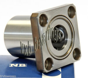 Nb Systems Swk16 1 Inch Ball Bushings Square Flange Linear Motion 8099