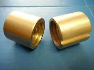 Bridgeport Mill Part J Head Milling Machine Cross Feed Nut 2 Pc 2060631 M1070 2
