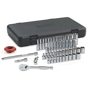 Gearwrench 80300 1 4 inch Drive 6 Point Socket Set 51 Piece