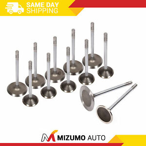 Intake Exhaust Valves Fit Jeep Commander Liberty Dodge Ram Dakota Durango 3 7