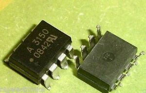 5 Pcs Hcpl 3150 Hcpl3150 A3150 Smd 8 Optocoupler Ic