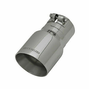 Flowmaster 15377 4 Stainless Steel Angle Cut Exhaust Tip For 3 Tailpipe