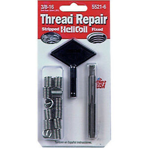 Helicoil 5521 6 Thread Repair Kit 3 8 16 X 562