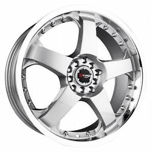 17 Drag Dr11 Silver Wheels Rims Acura Integra Tl Legend