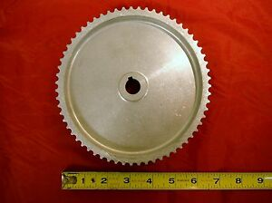 Bridgeport Mill J Head Milling Machine Timing Belt Pulley 2 Hp 2550016 M1539