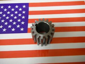 Bridgeport Mill Part J Head Milling Machine Quill Pinion Gear 2190108 M1449